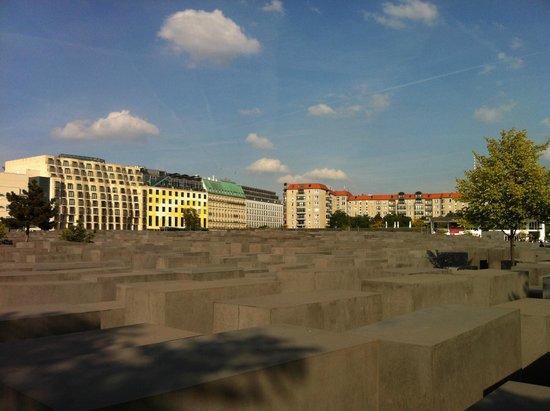 Holocaust-Mahnmal (Denkmal für die ermordeten Juden Europas): View