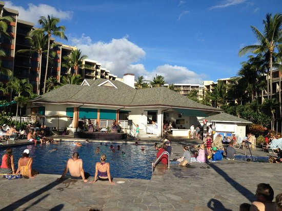 Aston Kaanapali Shores : One of two pools