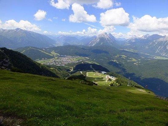 Rosshütte: looking down over Seefeld