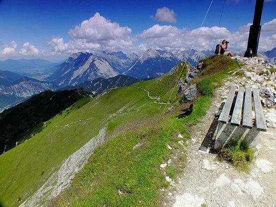 Rosshütte: vista from Seefelderspitze