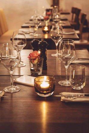Restaurant Upper Eat Side : Gedeckte Tische