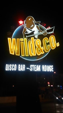 Wild & Co. Steakhouse : Sign