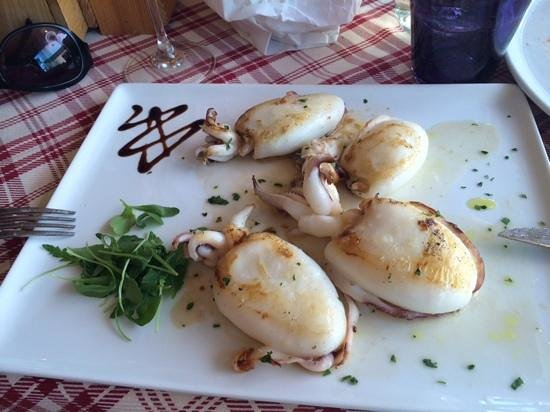 Sapore di Sale: каракатицы на гриле