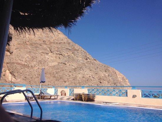 Lucia Villas: The pool area