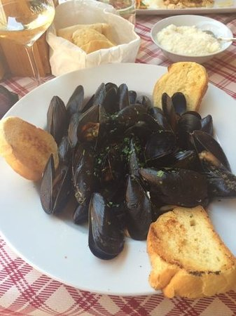 Sapore di Sale: мидии в остром соусе