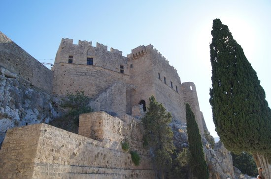 Acropolis of Lindos: Acropoli di Lindos