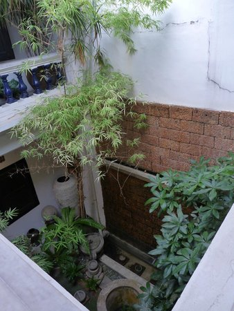 Courtyard @ Heeren Boutique Hotel: UN DES PATIOS