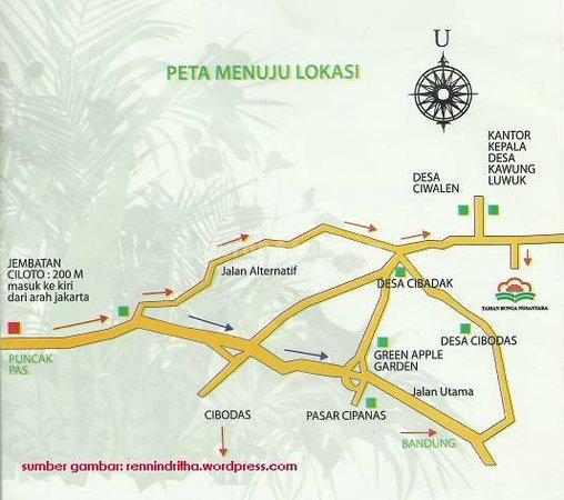Map Melrimba Foto Melrimba Garden Bogor Tripadvisor