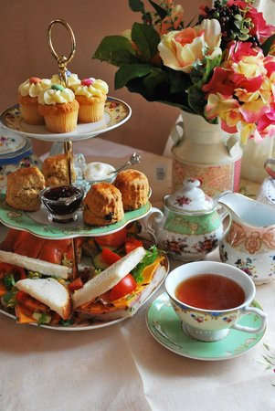 Adare's Old Creamery Gift Co.: Afternoon tea in miss crumpets tea rooms