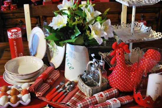 Adare's Old Creamery Gift Co.: kitchen