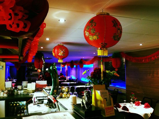 Ming Wah: chinese new year decorations up 1