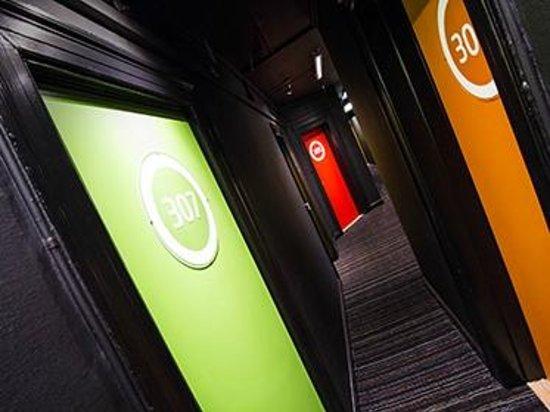 Annex Copenhagen: Third floor hallway