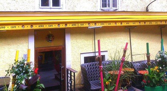 Afro Cafe: Salzburg - Afro Café - Terrace