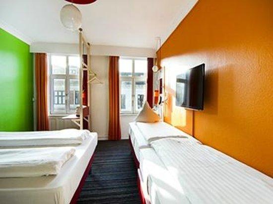 Annex Copenhagen: Quad room