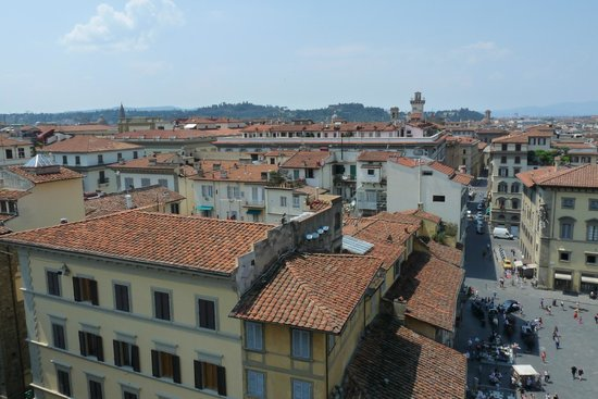 Cupola del Brunelleschi: Florence, the old city area, from the top