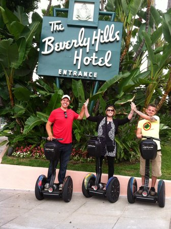 A Day in LA Tours : Segway Tour of Beverly Hills