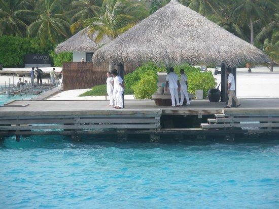 Velassaru Maldives: accoglienza all'arrivo