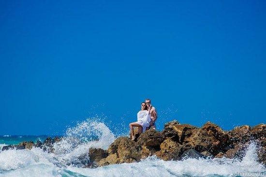 Amirandes, Grecotel Exclusive Resort : Фотосессия на пляже отеля