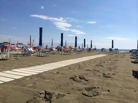 Hotel Maita : spiaggia hotel