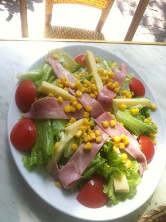 Creperie Beaubourg : Ham & cheese Salad
