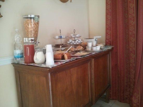Petit Chateau Bed & Breakfast: colazione