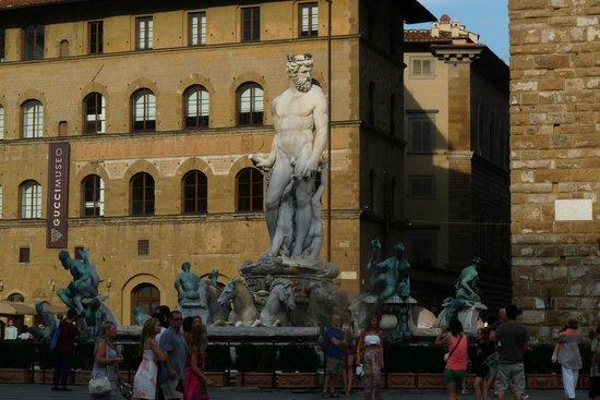 Statue, Piazza della Signoria