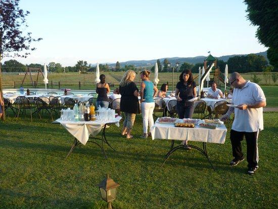 Le Rondini di Francesco di Assisi - Agriturismo: I preparativi della festa
