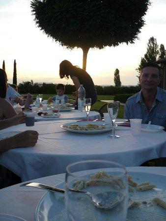Le Rondini di Francesco di Assisi - Agriturismo: La cena con la