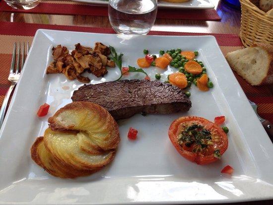 Cafe de Paris: Faux filet