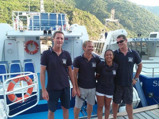 Nave Va Promenades en Mer: notre equipage du tonner