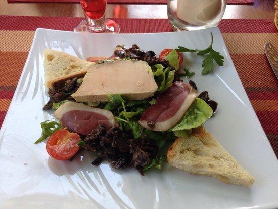 Cafe de Paris: Salade périgourdine