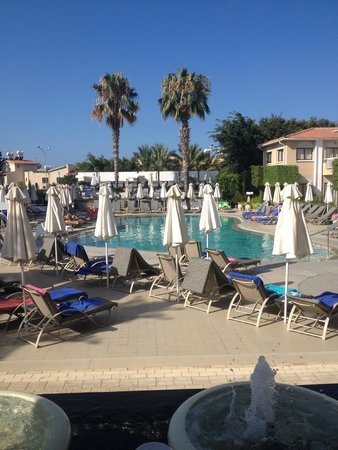 The King Jason Paphos: Main pool from dining room