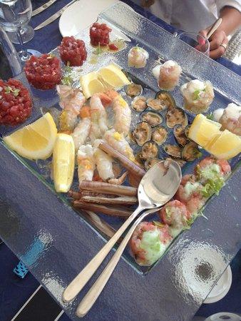 Punta Campanella Resort & Spa: die rohen Meeresfrüchte-Spezialitäten, die ....