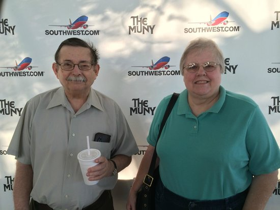 Mom & Dad at The Muny