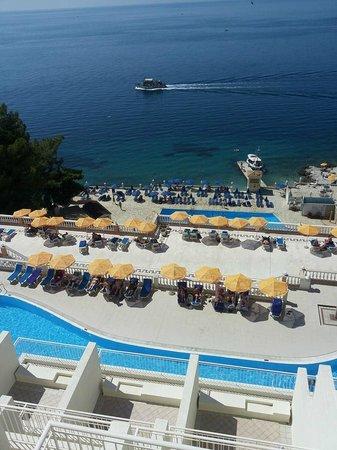 Sunshine Corfu Hotel & Spa: Vue du 1er étage