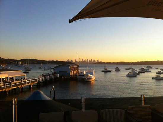 Beach Club at Watsons Bay Boutique Hotel: A great place to watch the sunset!