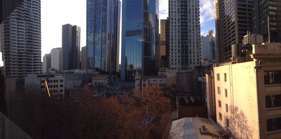 Rydges World Square Sydney Hotel : View from the room. Not bad.