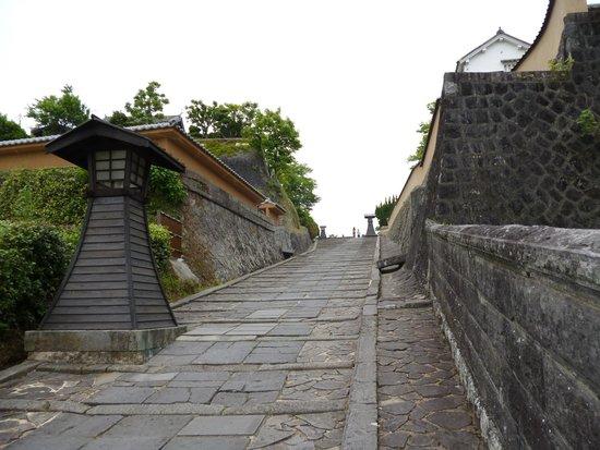 Kitsuki Castle Town : 酢屋の坂