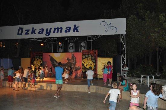Hotel Ozkaymak Incekum: Амфитеатр