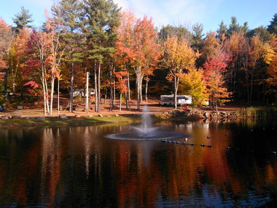 Saddleback Campground : Saddleback adornig her fall colors