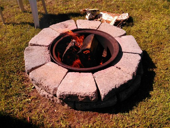 Saddleback Campground : relax around a fire pit every site has a fire pit and picnic table