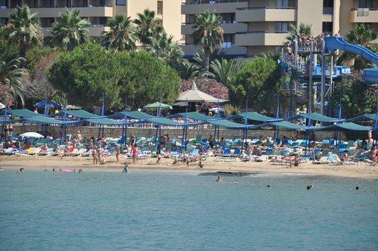 Hotel Ozkaymak Incekum: Вид на пляж