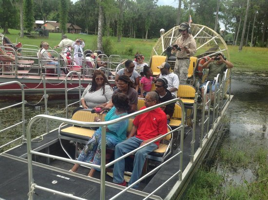 Bushnell, FL: BJ' AIRBOAT RIDES