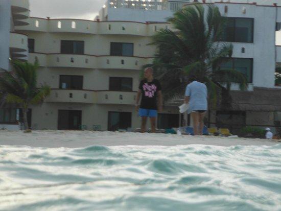 Hotel All Riviera: Vista desde el mar