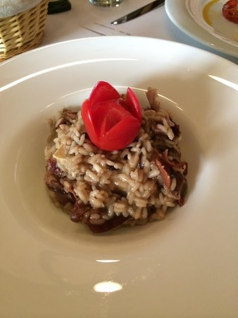 Trilogija : Risotto with Croatian ham