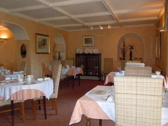 Lovelady Shield Country House Hotel: Dining Room