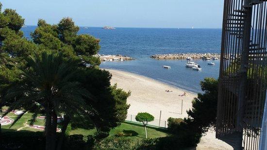 Sirenis Hotel Goleta & Spa : Aussicht zum Meer