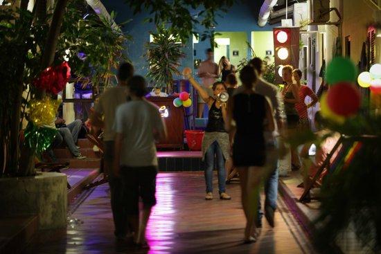 El Viajero Cartagena Hostel : Bar de Noche