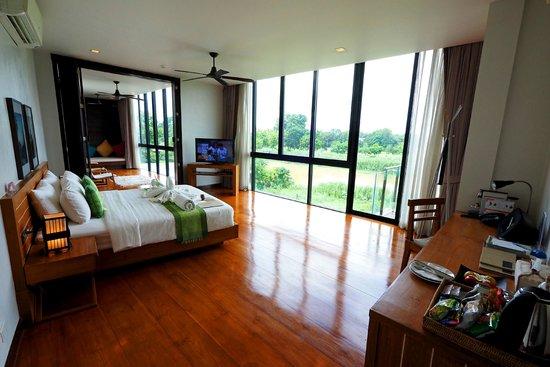 Zensala Riverpark Resort: ห้อง Type สูงสุด กว้างใหญ่มาก
