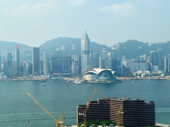 Hotel Panorama by Rhombus : View of Wanchai from the hotel